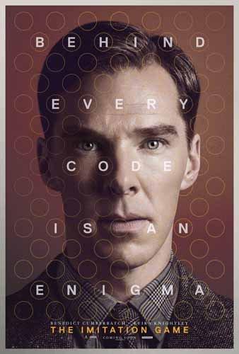 ポスター A4 パターンB イミテーション・ゲーム エニグマと天才数学者の秘密 光沢プリント