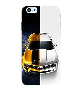 Dual Tone Luxury Car 3D Hard Polycarbonate Designer Back Case Cover for Apple iPhone 6s Plus :: Apple iPhone 6s+