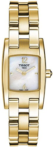 Tissot T3 PVD Steel Mother-of-Pearl Dial Women's Watch #T042.109.33.117.00