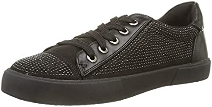 North Star 5416111, Sneaker,Donna, Nero (Black), 40