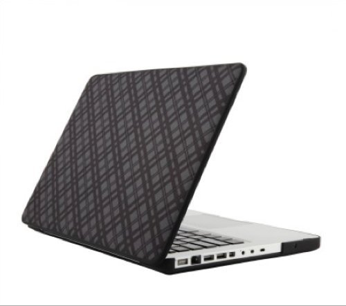 Speck Products Fitted Case for Macbook Pro 13-Inch - Darkest Tartan Plaid (SPK-A0070)
