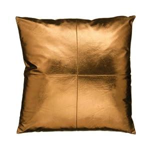 premier housewares coussin simili cuir cuivre 45 x 45 cm cuisine maison. Black Bedroom Furniture Sets. Home Design Ideas