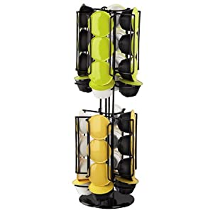 Xavax porte capsules caf rondello pour dolce gusto noir cuisine maison - Porte capsule dolce gusto ...
