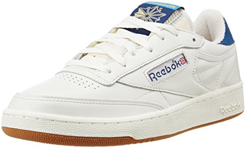 reebok-club-c-85-retro-gum-mixte-adulte-cuir-lisse-sneaker-low-445-eu