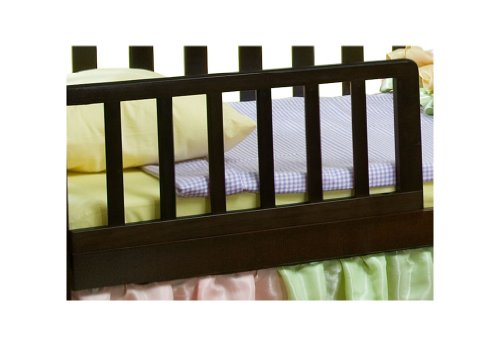 Simmons Kids Toddler Guard Rail Blk Cherry