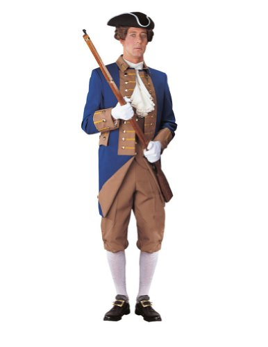 American Rev Officer Sm Halloween Costume - Adult Small