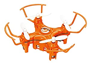 XuanLei 2.2CM MINI Drone 2.4G RC Nano 4-Axis Aircraft with LED Lights(ORANGE)