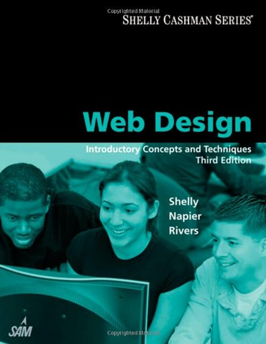 Web Design: Introductory Concepts and Techniques (Shelly Cashman)