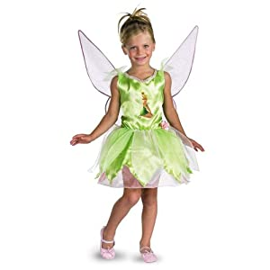 Tinker Bell Classic Child Costume Size Small (4-6x)