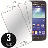 Galaxy Ace 3 Screen Protector Cover, MPERO Collection 3 Pack of Mirror Screen Protectors for Samsung Galaxy Ace 3