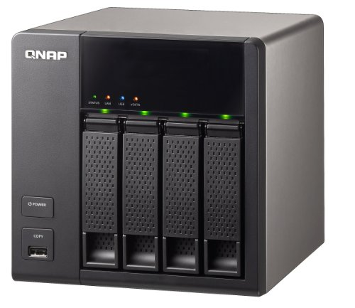 QNAP TS-412 Turbo 12TB Network Attached Storage with Built-In UPNP/ DLNA Media Server