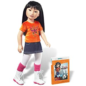 Karito Kids Ling From China World Collection Doll/Book Starter Set