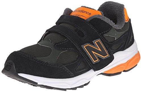 New Balance KV990P Running Shoe (Little Kid), Green/Orange, 11.5 M US Little Kid