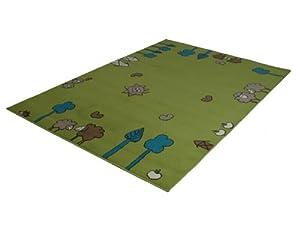 Kinderteppich Luna Kids 551685 gruen 160x225cm  BaumarktKundenbewertung und weitere Informationen