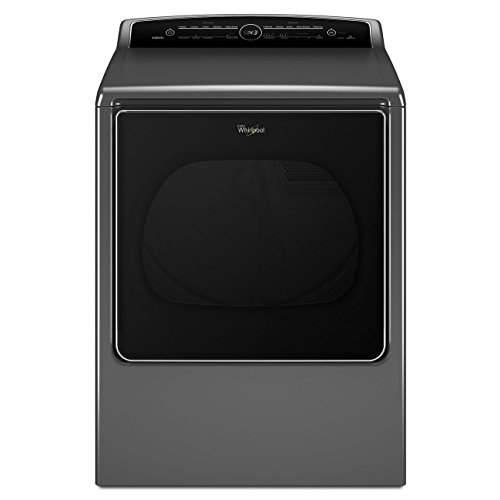 Whirlpool WED8500DC Cabrio 8.8 Cu. Ft. Chrome Shadow Electric With Steam Cycle Dryer (Cabrio Electric Steam Dryer compare prices)