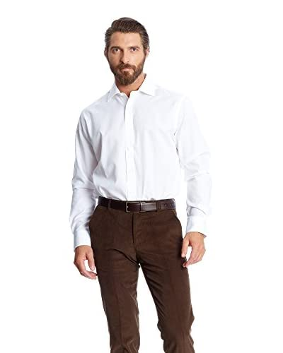 Pedro del Hierro Camicia Uomo [Bianco]