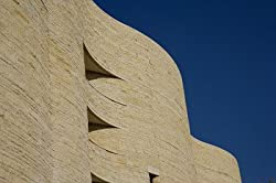 Detail of the U.S. Museum of the American Indian, Washington Photograph - Beautiful 16x20-inch Photographic Print by Carol M. Highsmith