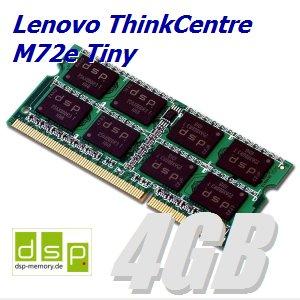 4GB Speicher / RAM für Lenovo ThinkCentre M72e Tiny