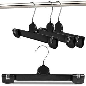 10 kunststoff klammer b gel f r hosen r cke etc breite ca 30 cm hangerworld. Black Bedroom Furniture Sets. Home Design Ideas