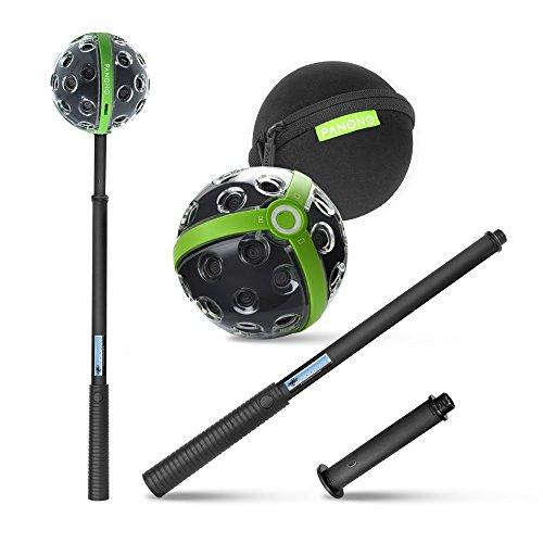 PANONO Full-Set 360 Grad Kamera + Stick + Adapter +...