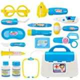 Atoz Prime Blue Kids Doctor Nurse Toy Children Pretend Play Case Child Gift Set Kit