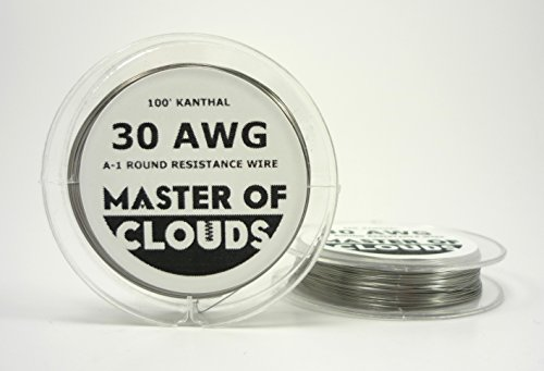100Ft. Kanthal A1 Resistance Wire 30 Awg Gauge 100' Lengths