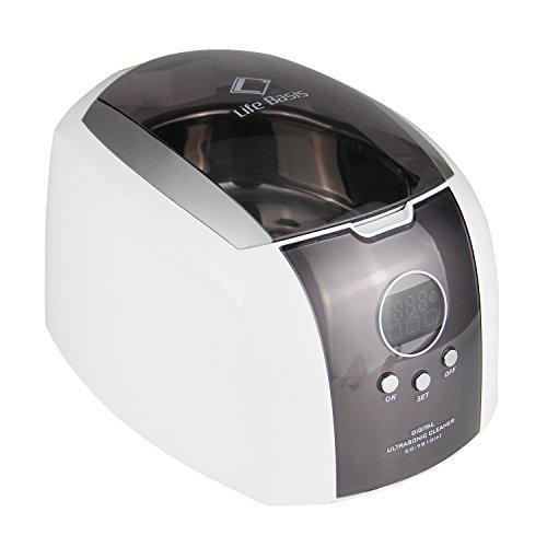 LifeBasis 700ml Klassicher Digital Ultraschallreiniger Ultraschallreinigungsgerät für Reinigung von Schmuck , CD , Uhren , Glas , Brille , Edelstahlreinigung