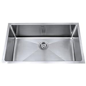Best Price Kitchen Sinks : ... 32-Inch Undermount Single Bowl 16 gauge Kitchen Sink, Stainless Steel