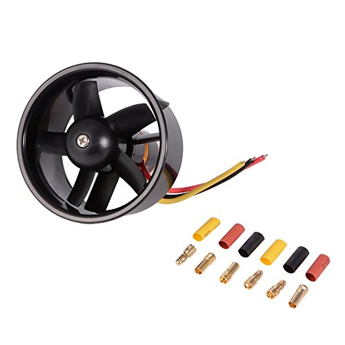 xcsource-64mm-ducted-5-rotor-fan-with-4500kv-brushless-outrunner-motor-balance-tested-for-edf-jet-ai