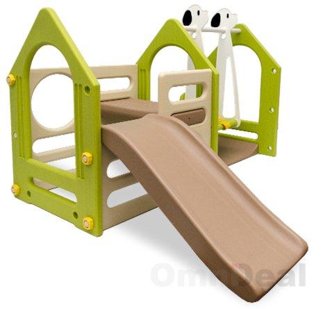 casa dei giochi scivolo altalena epr ks 111 scivoli da giardino panorama auto. Black Bedroom Furniture Sets. Home Design Ideas