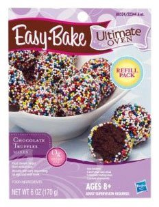 Easy Bake Oven Chocolate Truffle Mixes 6 Oz - 1