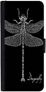 Snoogg Detailed Dragonfly Vectordesigner Protective Flip Case Cover For Samsu...