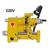 220V Power Universal cutter grinder sharpener for end mill (Color: Yello)