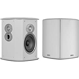 Polk Audio FXI A4 Surround Speakers (Pair, White)