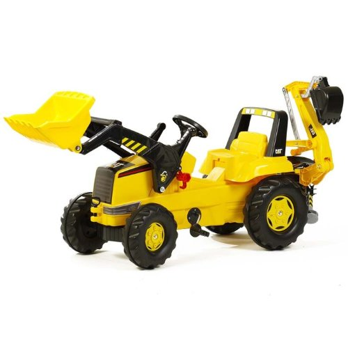 Construction Riding Toys For Boys : John deere pedal tractor kettler cat front loader and