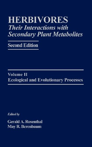 Herbivores: Their Interactions with Secondary Plant Metabolites, Second Edition: Ecological and Evolutionary Processes (Herbivores (2/E))
