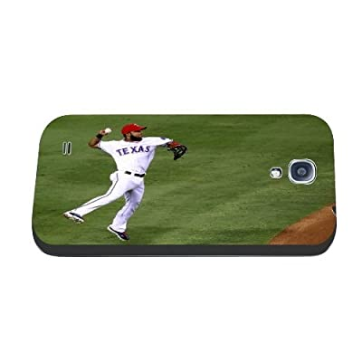 Cool Design MLB Guys Samsung Galaxy s4 I9500 Case for Teen Boys With Texas Rangers NO.1 Elvis Andrus Phone Case Best Gift for Men