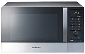 Samsung CE109MTST/XEG Four Micro Ondes avec Grill et Air Chaud 900 Watts Grill 1250 Watts 28 Litres