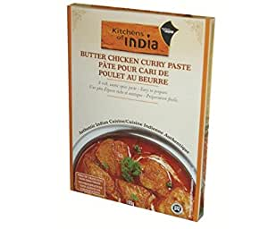 Kitchens of India Paste for Butter Chicken Curry, 3.5-Ounce Boxes (Pack of 6)