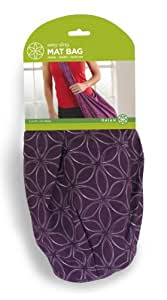 Gaiam Easy Sling Mat Bag-Purple/ Sac À Tapis À Usage Multiple-Mauve