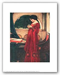 "The Crystal Ball by John William Waterhouse 8""x10"" Art Print Poster"