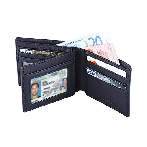 hoobest-rfid-blocking-genuine-leather-wallet-for-men-excellent-as-travel-credit-card-case-wallets-pr