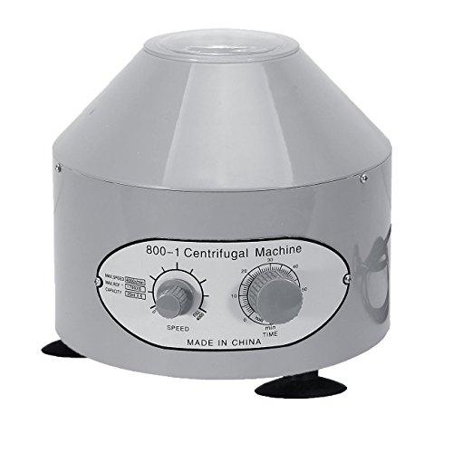 BEAMNOVA Desktop Electric Lab Centrifuge Machine (Timer 0-60min) 0-4000 Rpm Cap:20ml X 6 Tube (800-1) 110v (No for Medical Use) (Manual Centrifuge compare prices)