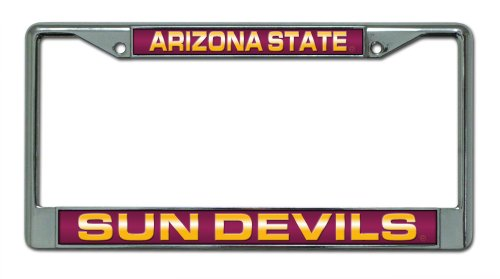 Arizona State Laser Chrome Frame
