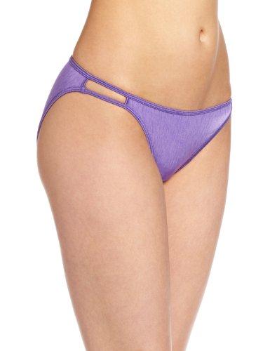 Vanity Fair Women's Illumination String Bikini, NH Grape, Large/7