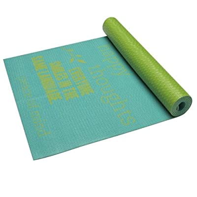 Gaiam Be Inspired Print Yoga Mat (4mm)