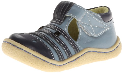 Livie & Luca Zebra Flat (Toddler/Little Kid),Blue,9 M US Toddler