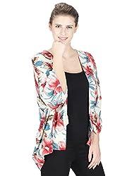 Miway Women's Multicolor Kimono Tops (S)