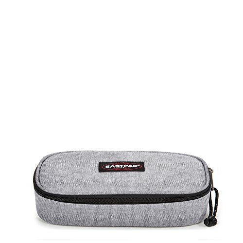 Eastpak Oval Single Estuche, Diseño Sunday, Color Gris