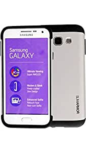 Slim/Tough Armor A fit to use anti-shock and anti-scratch case for Samsung Galaxy A7 (Silver)